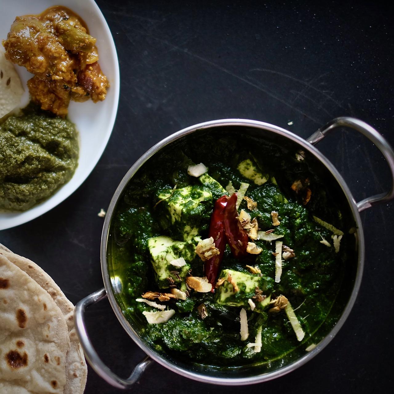 Recipe For Saag Paneer Urbanfoodlover